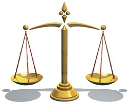 Scales of justice #3